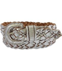fashion focus accessories braided buckle belt