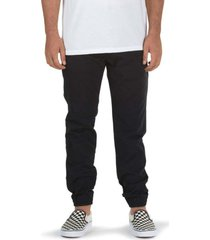 pantalon hombre mn authentic jogger negro vans
