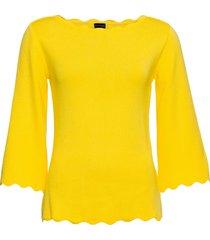 maglione con maniche a 3/4 (giallo) - bodyflirt