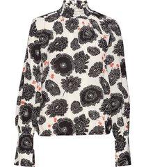 nanette poppy blouse lange mouwen crème rodebjer