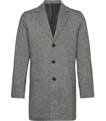6209123, jacket - fayette faux wool yllerock rock grå solid