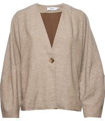 brighton jacket blazers casual blazers beige stylein