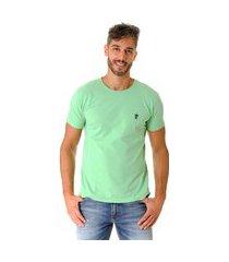 camiseta opera rock t-shirt verde claro