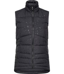 transition down vest w vests padded vests zwart salomon
