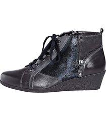 skor caprice blå