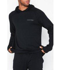 calvin klein underwear l/s hoodie tröjor black