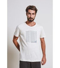 camiseta armadillo t-shirt waves box masculina