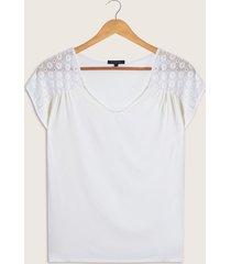 camiseta con encaje-xxl