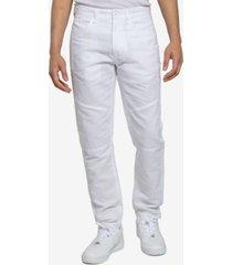 men's linen moto detail pants