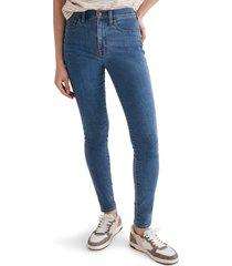 women's madewell 10-inch roadtripper jeans, size 23 - blue