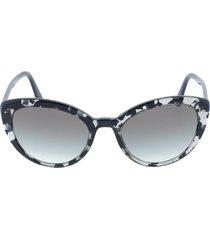 grey slim cat eye sunglasses