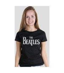 camiseta bandup! the beatles classic logo