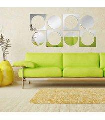 espelho love decor decorativo círculos retor único