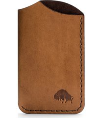 ezra arthur no. 1 leather card case in whiskey at nordstrom