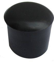 ponteira para móveis externo em pvc 7/8'' preto