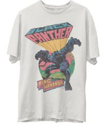 junk food men's black panther short sleeve tee shirt