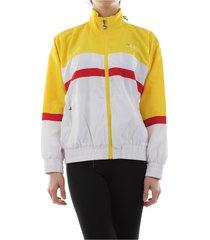 fila 607082 kaya jacket sweater women yellow