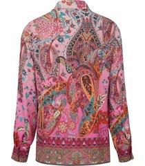 blouse van peter hahn roze