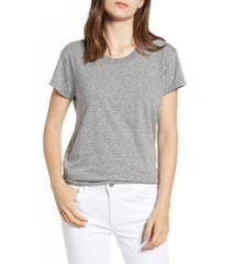 women's current/elliott the relaxed crewneck tee