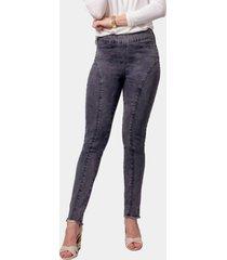 calã§a jeans morango moreno jegging preta - preto - feminino - dafiti