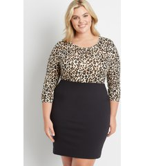 maurices plus size womens high rise ponte pencil skirt