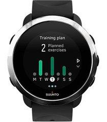 relógio c/ monitor cardíaco no pulso suunto 3 fitness