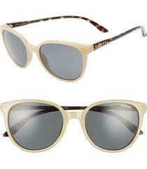 women's smith cheetah 54mm chromapop(tm) polarized round sunglasses -
