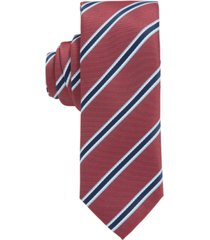 boss men's dark pink tie
