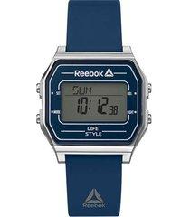 reloj azul reebok nerd digital