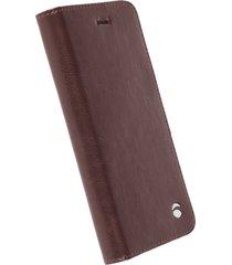 funda krusell para iphone 6s / iphone 6 -ekero folio wallet -café