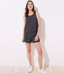 loft dotted swingy romper