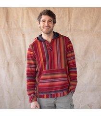 adobe stripes hoodie