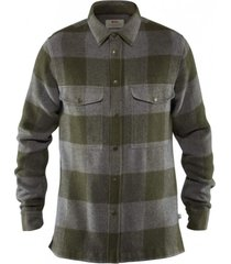 camisa canada shirt fjall verde raven