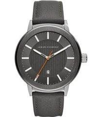 relógio armani exchange classic maddox masculino