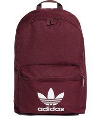mochila bordo adidas class trifolio