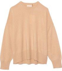 anaa cashmere sweater in beige