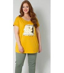 shirt sara lindholm geel