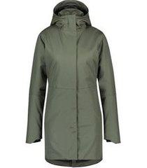 agu regenjas women urban outdoor clean jacket army green