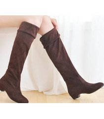pb137 cutie adjustable cylinder winter boots, flat heel, us size 5-9,brown