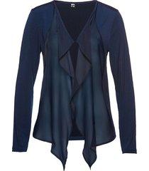 cardigan in maglina (blu) - bpc selection
