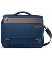samsonite men's kombi flap briefcase
