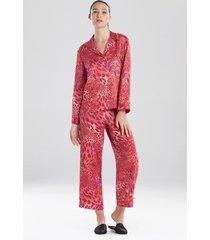 natori jaguar sleep pajamas & loungewear, women's, size s natori