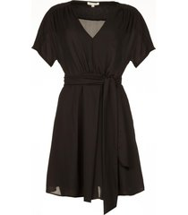 jurk lamury  zwart