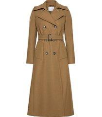 classic trench coat trenchcoat lange jas beige ivy & oak