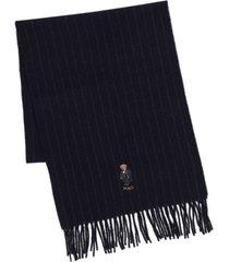 polo ralph lauren men's cold weather bear scarf