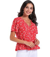 blusa dandelion rojo nicopoly
