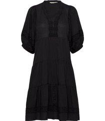 laura dress knälång klänning svart odd molly