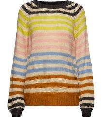 lana jumper stickad tröja multi/mönstrad lollys laundry