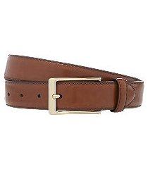 jos. a. bank polished leather belt