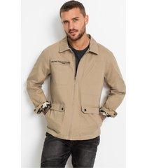 field jacket in used look